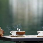 あたたかいコーヒー